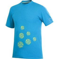Vêtements Homme T-shirts manches courtes Craft Active Logo Run Tee Bleu