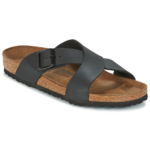 birkenstock tunis noir livraison gratuite avec chaussures mules homme 79 99. Black Bedroom Furniture Sets. Home Design Ideas