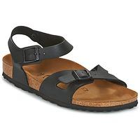 Chaussures Femme Sandales et Nu-pieds Birkenstock RIO Noir