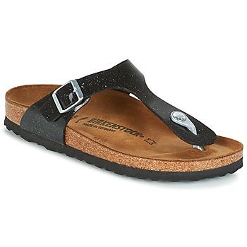 Chaussures Enfant Tongs Birkenstock GIZEH Noir