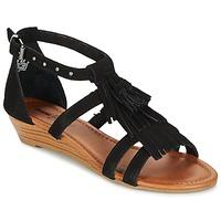 Chaussures Femme Sandales et Nu-pieds Minnetonka MARINA Noir
