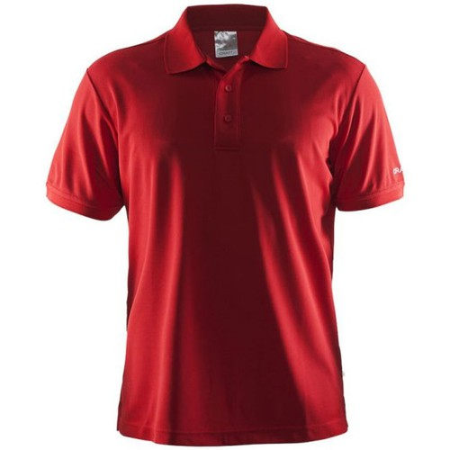 T-shirts & Polos Craft Shirt Pique Classic Rouge 350x350