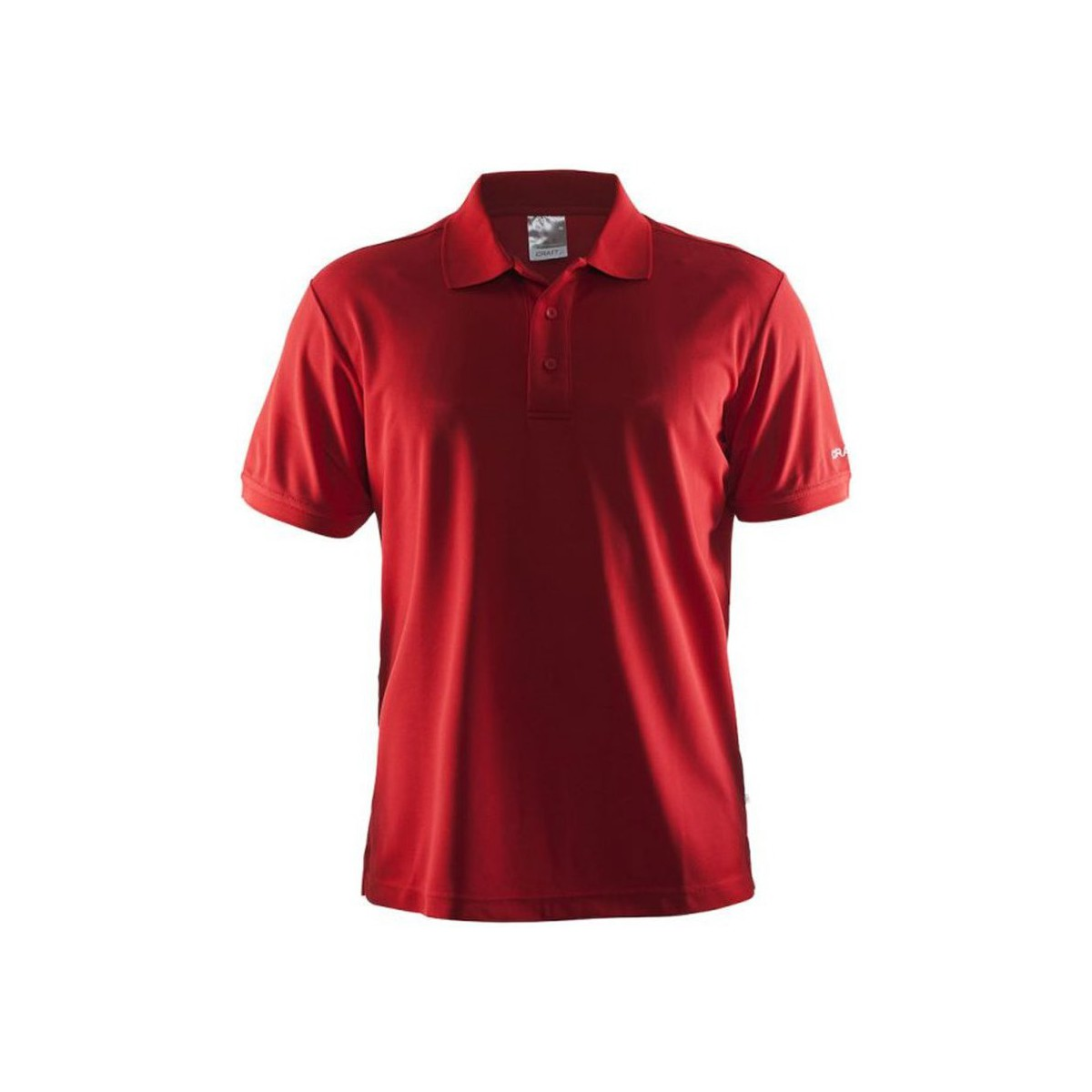 Craft Shirt Pique Classic Rouge