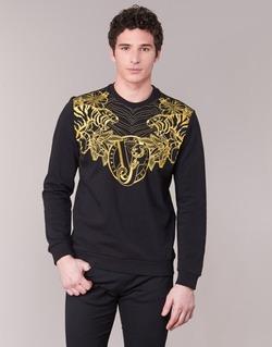 Vêtements Homme Sweats Versace Jeans B7GPB7F0 Noir