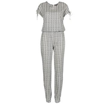Vêtements Femme Combinaisons / Salopettes Vero Moda NOW Blanc / Noir