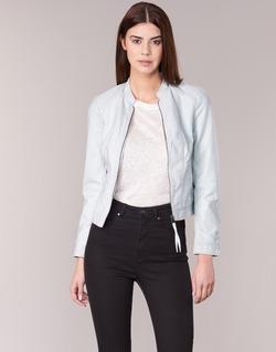 Vêtements Femme Vestes en cuir / synthétiques Vero Moda QUEEN Bleu clair