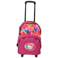 Sacs Femme Sacs / Cartables à roulettes Hello Kitty Cartable fille HPS22080rose Rose