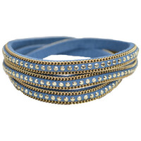 Bracelets Selection Francuir Bracelet fantaisie B-BKBLEU