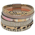 Selection Francuir Bracelet fantaisie B-BQ-2JAUNEMULTI