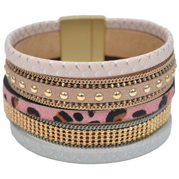 Bracelets Selection Francuir Bracelet fantaisie B-BQ-2ROSE