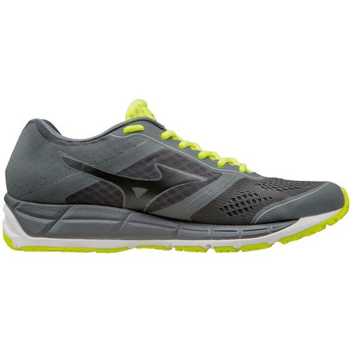 Baskets mode Mizuno Synchro MX Graphite-Jaune 350x350