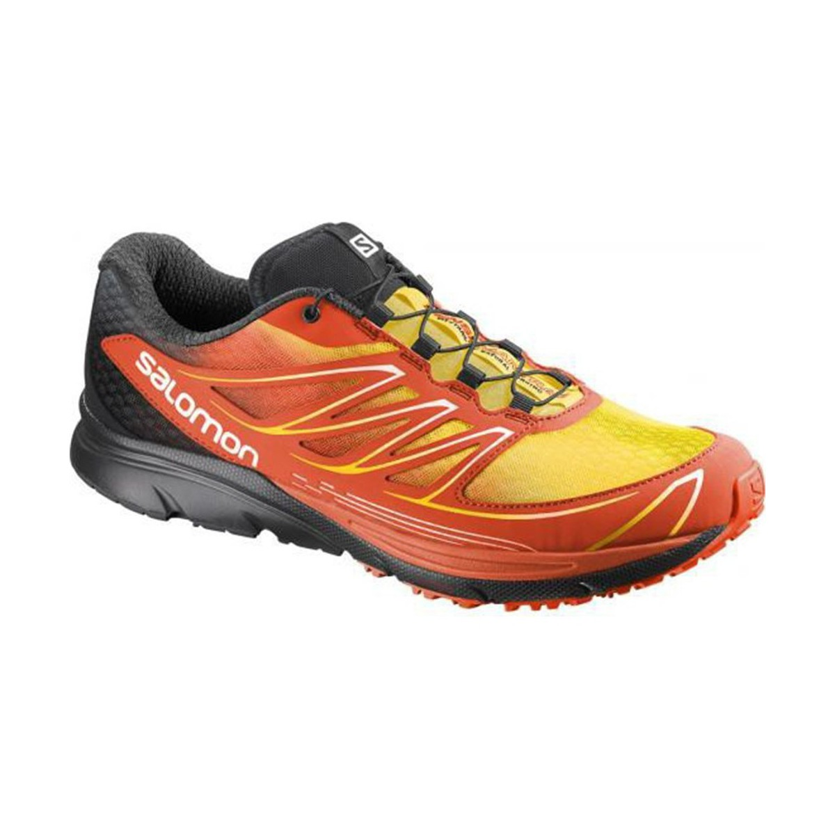 Chaussures-de-running Salomon Sense Mantra 3 Rouge