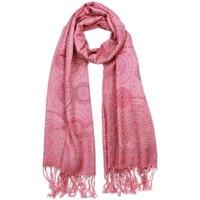 Accessoires textile Femme Echarpes / Etoles / Foulards Léon Montane Echarpe Pashmina Rose et Violet Bombay Rose