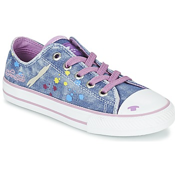 Chaussures Fille Baskets basses Tom Tailor JIJAA Bleu / Violet