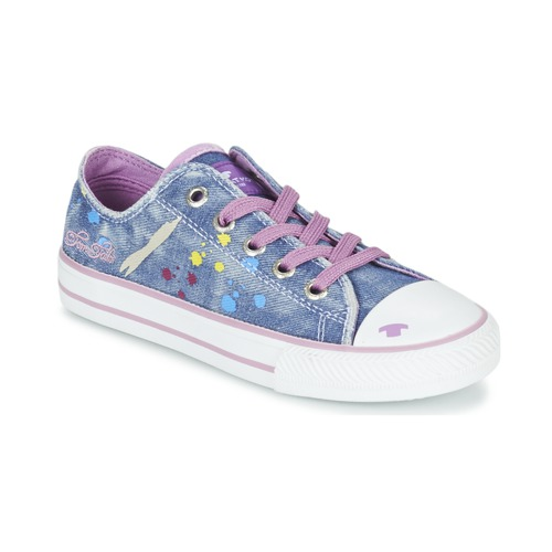 Chaussures Fille Baskets basses Tom Tailor JIJAA Bleu / Violet