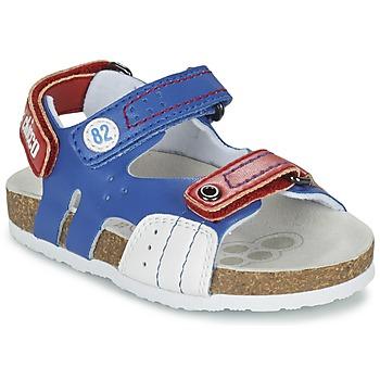 Chaussures Garçon Sandales et Nu-pieds Chicco HELIO Bleu / Blanc / Rouge
