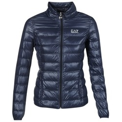 Vêtements Femme Doudounes Emporio Armani EA7 TRAIN CORE Marine