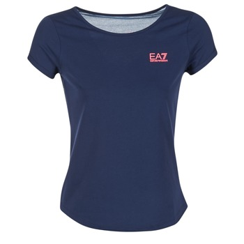 Vêtements Femme Tops / Blouses Emporio Armani EA7 TRAIN GRAPHIC Bleu