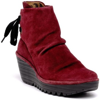 Chaussures Femme Boots Fly London Yama Rouge