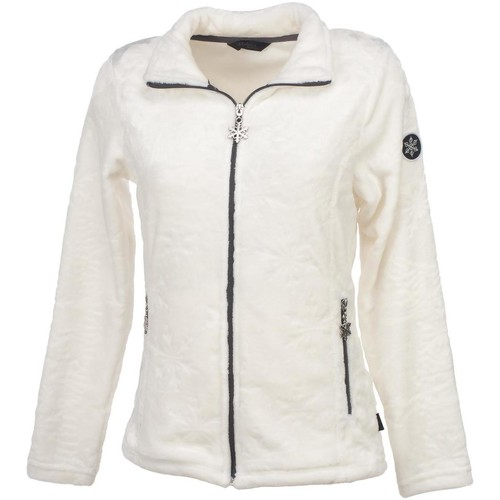 Sweats & Polaires Eldera Sportswear Snow blanc lady Blanc 350x350