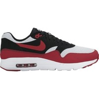 Chaussures Homme Baskets basses Nike Air Max 1 Ultra Essential Blanc-Rouge-Noir