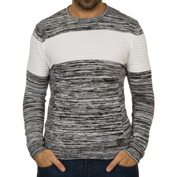 Pulls Beststyle Pull homme rayé noir