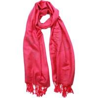 Accessoires textile Femme Echarpes / Etoles / Foulards Léon Montane Echarpe Pashmina Rose Vif Bombay Rose