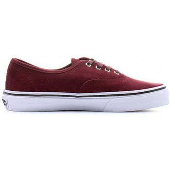 Chaussures Fille Baskets mode Vans Chaussures  K Authentic Suede - Port Royale Rouge