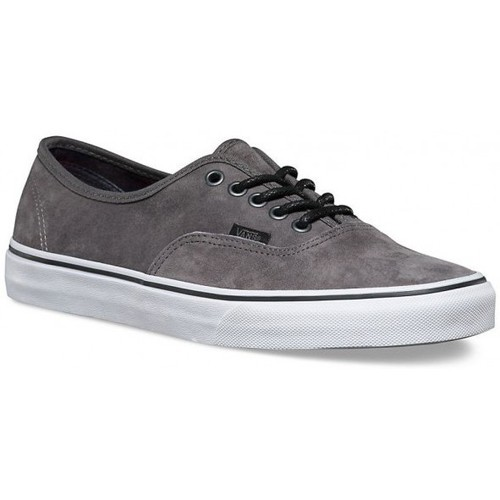 Baskets mode Vans Chaussures  U Authentic Textured Suede - Pewter / Plaid Gris 350x350