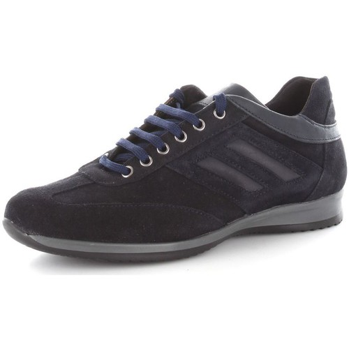 Again 107 Basket Homme Blue Blue - Chaussures Baskets basses Homme