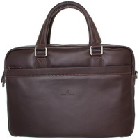 Sacs Homme Porte-Documents / Serviettes Hexagona Serviette  en cuir ref_xga40234-marron-40*30*8 Marron