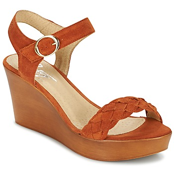 Chaussures Femme Sandales et Nu-pieds Betty London GIMI Rouille