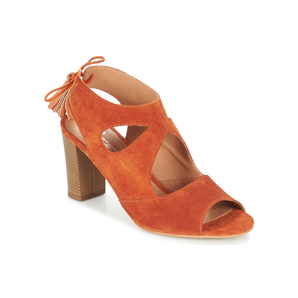 Betty London GARMER Rouille - Livraison Gratuite avec  - Chaussures Sandale Femme