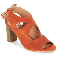 Chaussures Femme Sandales et Nu-pieds Betty London GARMER Rouille