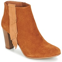 Chaussures Femme Bottines Betty London GAMI Camel