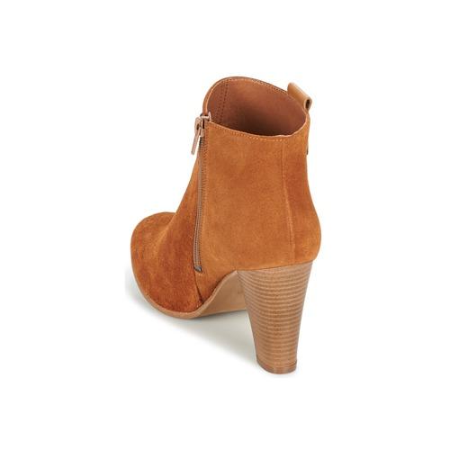 Betty London Gami Camel - Livraison Gratuite- Chaussures Bottine Femme 61
