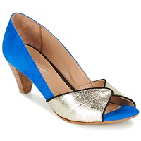 Chaussures Femme Escarpins Betty London GABIN Bleu / Doré