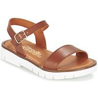 Chaussures Fille Sandales et Nu-pieds Citrouille et Compagnie GLAPOTI Camel