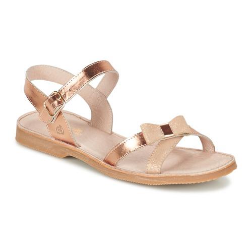 Chaussures Fille Sandales et Nu-pieds Citrouille et Compagnie JISCOTTE Bronze