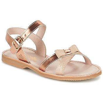 Chaussures Fille Sandales et Nu-pieds Citrouille et Compagnie GOGOGATO Bronze