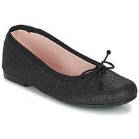 Chaussures Fille Ballerines / babies Citrouille et Compagnie GLIGLO Noir pailleté