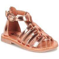 Chaussures Fille Sandales et Nu-pieds Citrouille et Compagnie JASMA Cuivre