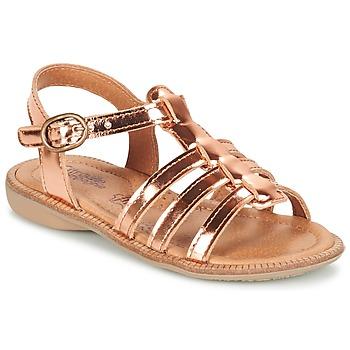 Chaussures Fille Sandales et Nu-pieds Citrouille et Compagnie GROUFLA Bronze