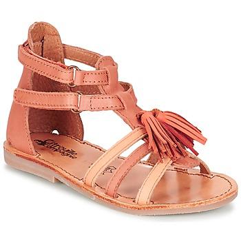 Chaussures Fille Sandales et Nu-pieds Citrouille et Compagnie GOFARO Orange