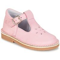 Chaussures Fille Ballerines / babies Citrouille et Compagnie GARENIA Rose