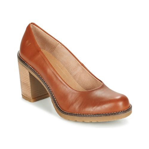 Chaussures Femme Escarpins Casual Attitude GEAL Camel