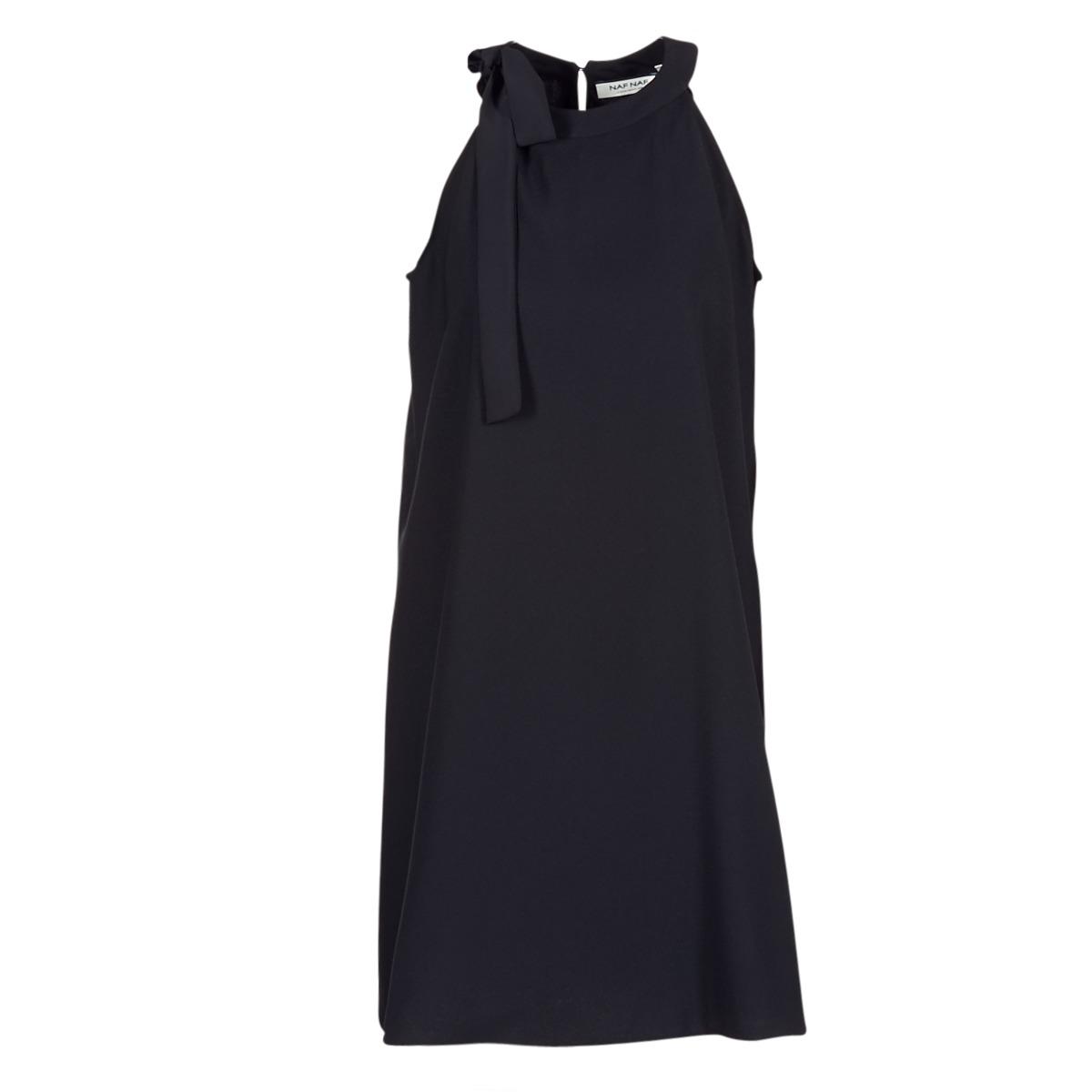 Naf Naf LOISEL Noir - Livraison Gratuite avec Spartoo.com ! - Vêtements  Robes courtes Femme 39,99 €