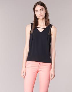 Vêtements Femme Débardeurs / T-shirts sans manche Naf Naf OPIPA Noir