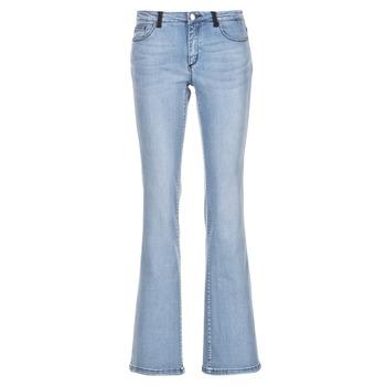 Vêtements Femme Jeans bootcut Naf Naf GALY Bleu clair