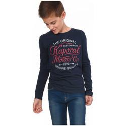 T-shirts manches longues Kaporal Tee-Shirt  Ganza Bleu